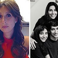 Amanda Berman (left), Zioness founder and executive director, has a background as a civil rights attorney. Atlanta activist Michal Ilai (right) with her three children.