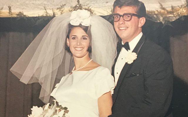 Bob and Janie at their wedding.