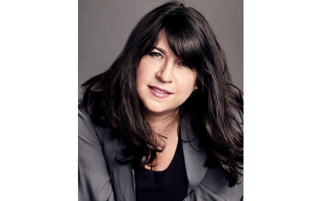 E L James says her middle-aged, noncelebrity, unidentifiable looks help protect her anonymity.