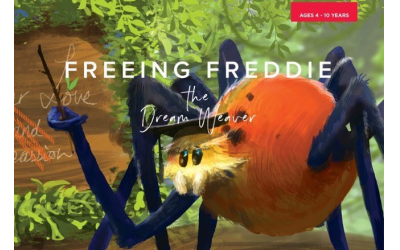 """The """"Freeing Freddie"""" book series includes a magical storybook, workbook for teens and activity book for younger children to integrate lessons from the story."""
