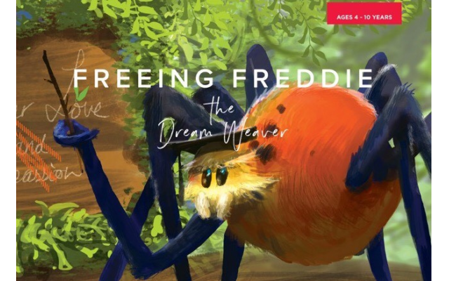 "The ""Freeing Freddie"" book series includes a magical storybook, workbook for teens and activity book for younger children to integrate lessons from the story."