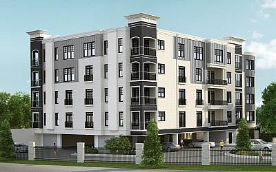 A rendering of The Dunhill in Sandy Springs near Costco and MARTA. The Luwisches feel that Atlanta has plenty of room for residential growth.