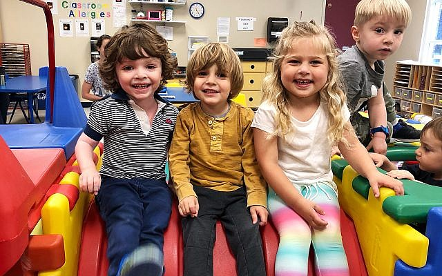 The Weinberg Early Learning Center is one option for preschool. Its newly opened infant room features a 3-to-1 teacher-child ratio and offers baby sign language, story time, infant yoga and intro to Judaics.