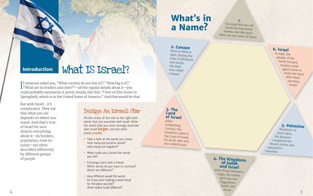 Page 4 and 5 preview of Israel...It's Complicated.