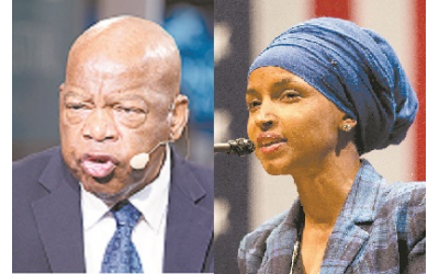 Resolution 496 was introduced to Congress last week by Rep. Ilhan Omar and co-sponsored by Rep. John Lewis.