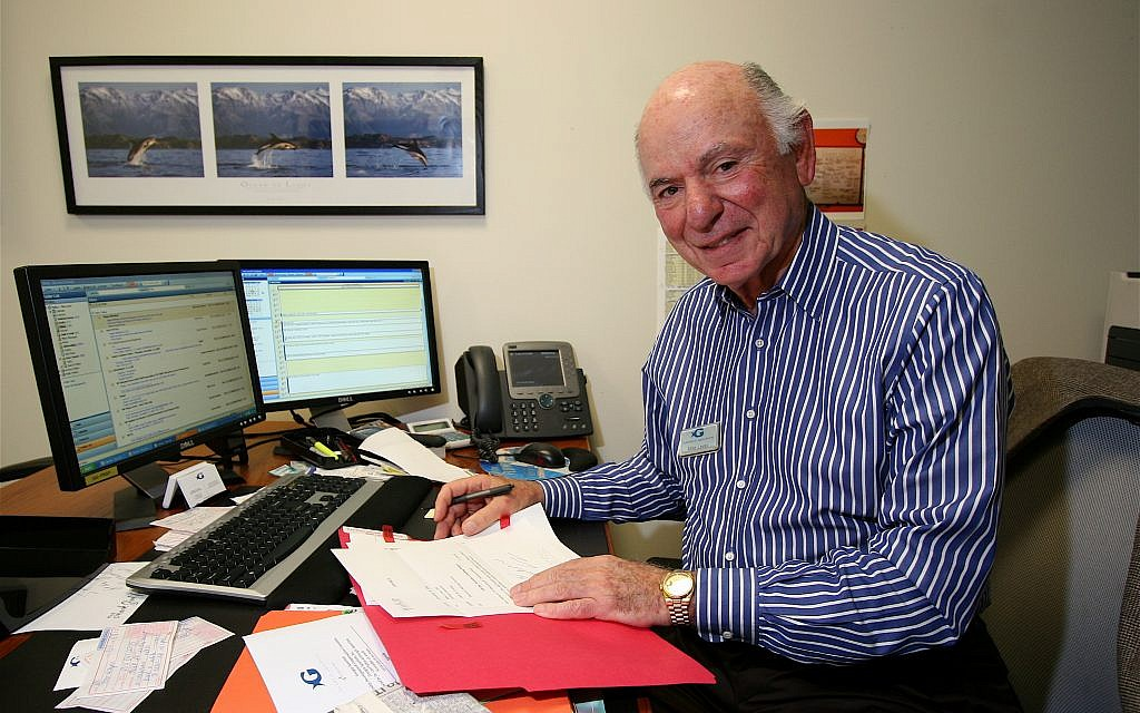 Mike Leven started the Jewish Future Pledge to direct giving to Jewish causes and/or the State of Israel.