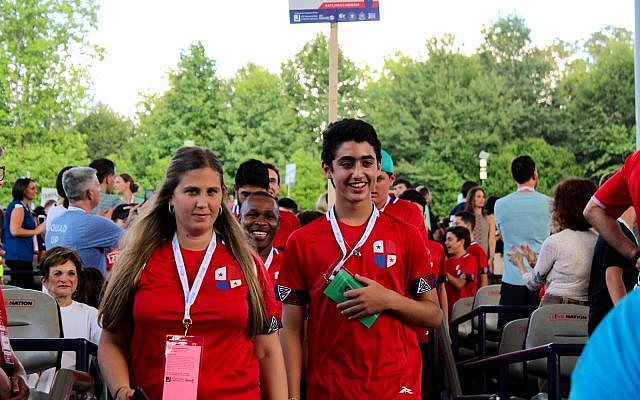 Delegations came from as far away as Panama to compete in this year's games.