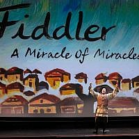 "Anna Lee photographer // ""Fiddler: A Miracle of Miracles"" takes a backstage look at what was once the longest-running musical."