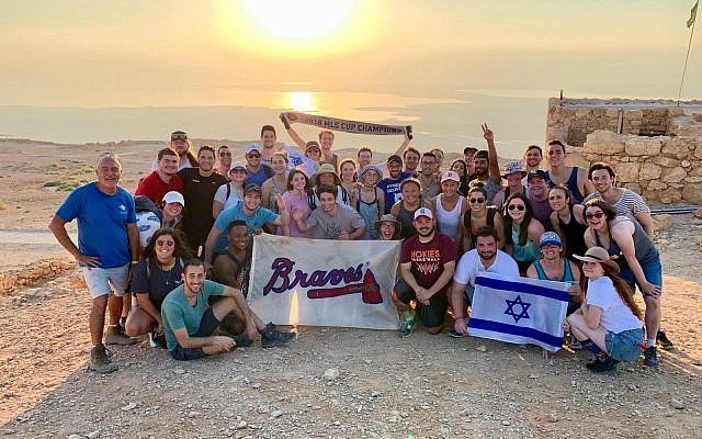 Sunrise Masada hikes are a staple of many Birthright Israel trips.