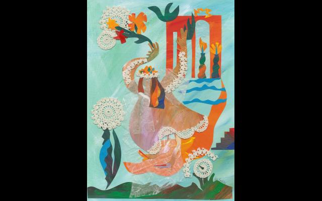 """Welcome Sabbath Bride"" by Flora Rosefsky"