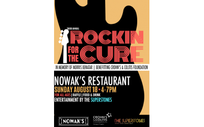Rockin for the Cure is now in its third year, and its second at Nowak's restaurant.