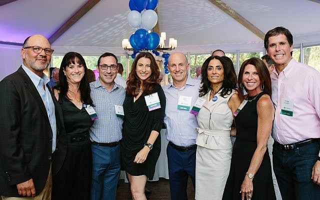 Event co-chairs were: Seth and Lisa Greenberg, Rob and Michelle Leven, Gary and Michelle Simon, and Beth and Gregg Paradies.