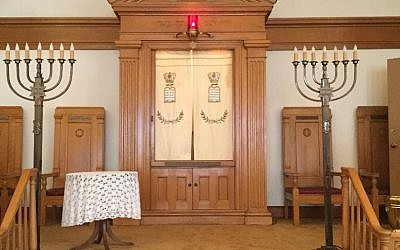 Temple Beth El's aron kodesh will move to Skokie Central Synagogue in early September.