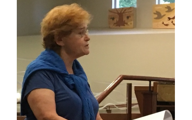 Deborah Lipstadt's talk came two years to the day after the deadly racist and anti-Semitic events in Charlottesville, Va.
