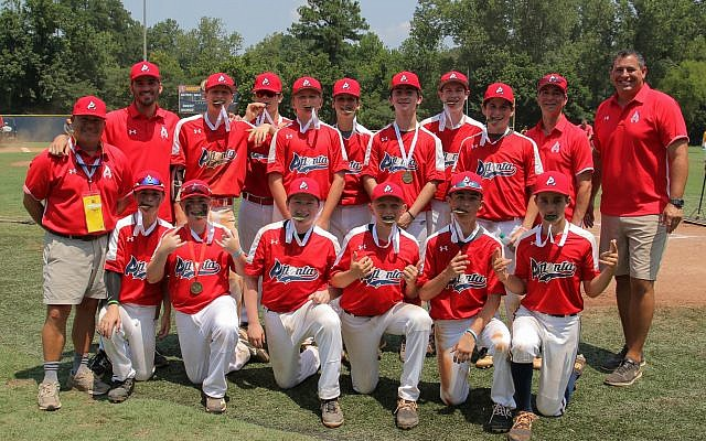 Team Atlanta medaled in both baseball divisions, scoring a gold in 14-and-under and a bronze in 16-and-under.