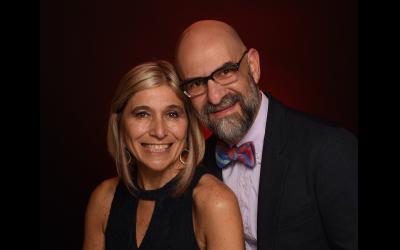 Rabbis Analia Bortz and Mario Karpuj