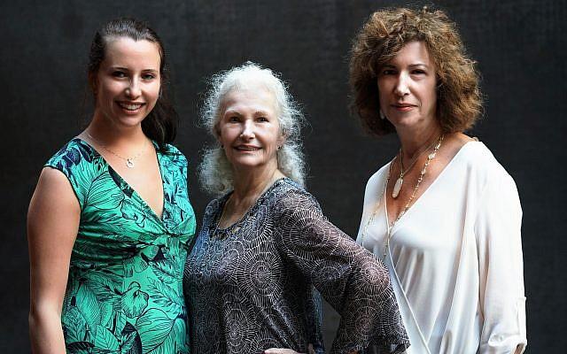 Shelley Elise Hersch, Helen Lefkowitz Hersch and Nica Hersch Tallman shared the experience.