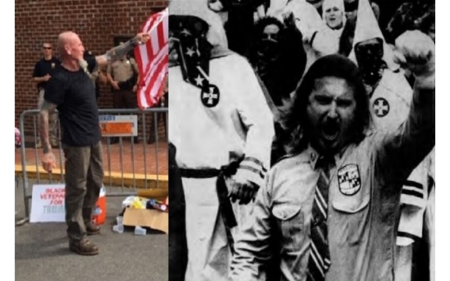 Chester Doles, a well-known KKK and white supremacist member, organized the rally.