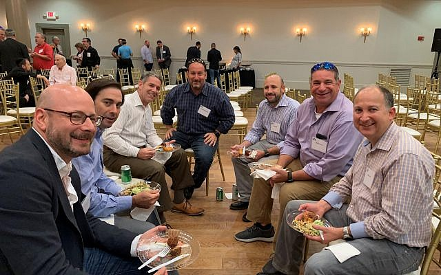Camaraderie was one of the goals of the Kollel annual event.