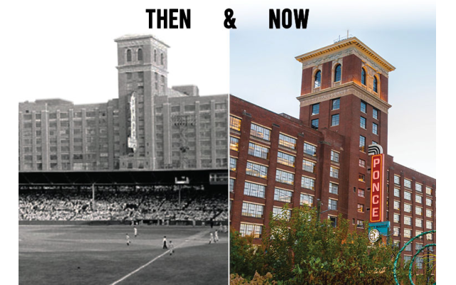 """Ponce City Market is a"""" live work play"""" historic building that Jamestown Properties turned into a Midtown community hub."""