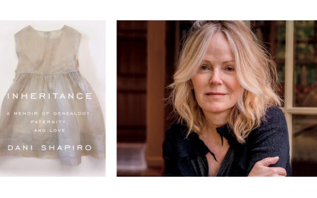 "Dani Shapiro, the author of ""Inheritance,"" will speak at Temple Sinai Dec. 4."
