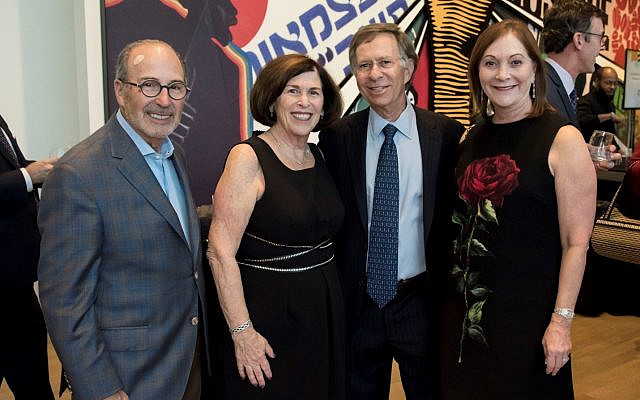 Couples attending the dinner include Ron and Lisa Brill and Jack and Lynn Halpern.