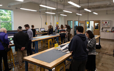 Photos by Eddie Samuels // The new second-floor facilities of the Daniel Zalik Academy officially opened Oct. 18, as students and faculty walked visitors through some of the exciting technology.