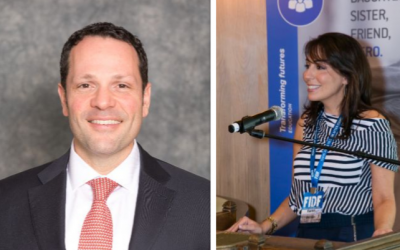 Itai Tsur and Karen Shulman, the FIDF Southeast's new president and chair respectively