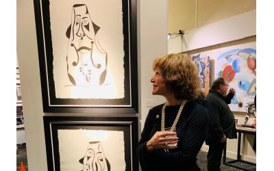 Amy Spanier is touted as a pioneer impresario in the Atlanta art community.