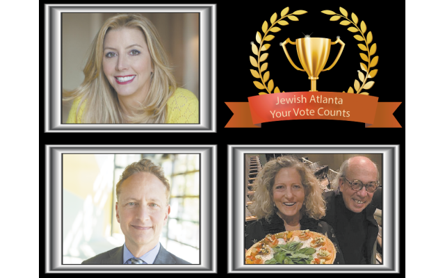 The three finalists for Entrepreneur of the Year are Sara Blakely, Matt Bronfman and Sandra and Clive Bank.