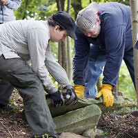 The Matzevah Foundation tries to restore Jewish cemeteries.