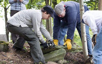 The Matzevah Foundation tries to restore Jewish cemeteries.