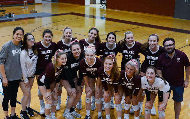 Walker's varsity girls volleyball made the state championship, falling to Hebron Christian Academy.
