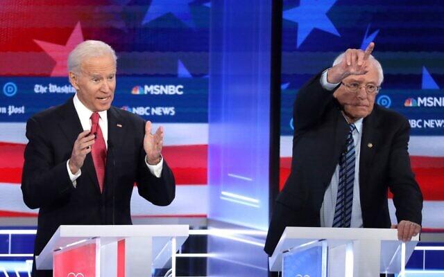 Front-runners in the race include former Vice President Joe Biden and Bernie Sanders.