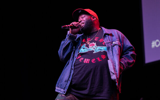 Rapper and activist Killer Mike emceed the evening.