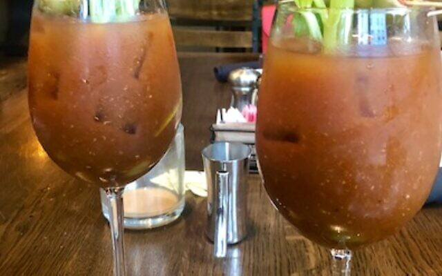 The W's Cook Hall's bloody marys were out of this world.