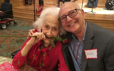 Social events such as the annual Sweethearts Ball at The William Breman Jewish Home give residents and families opportunities to celebrate together.