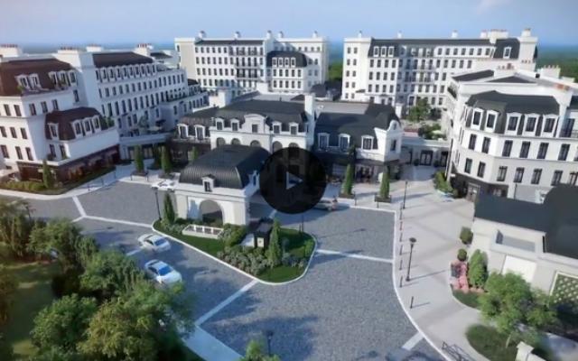 The Corso Atlanta senior housing development in Buckhead will eventually have over 600 units when it's complete.