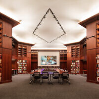 Thousands of books, research and other resources are housed at the Madlyn and Paul Hilliard Research Library.