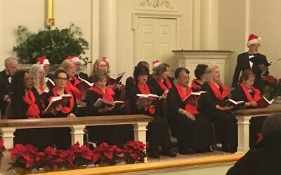 One of the two concerts of Christmas music by Jewish composers was held at Northside Drive Baptist Church in Buckhead.