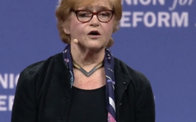 Emory's Deborah Lipstadt was the concluding speaker at the URJ Biennial convention.
