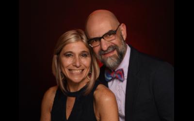Rabbis Analia Bortz and Mario Karpuj.