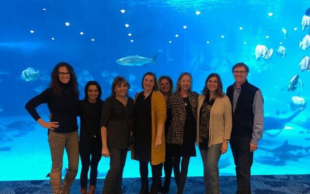 The team behind the festival includes Karen Isenberg Jones and Aparna Sharma of Changers and Makers, Sarah Parrish and Gayle Rubenstein of Balloons Over Atlanta, and Kaylene Ladinsky, Jen Evans, Jodi Danis and Michael Morris of the AJT.