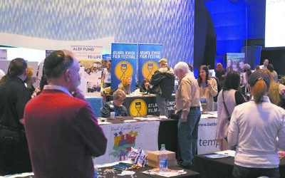 Community partner booths attracted community members from throughout Atlanta to learn about new organizations and chat with old friends.