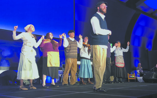 "The Atlanta Jewish Theatre Company closed the afternoon with excerpts from ""Fiddler on the Roof."""