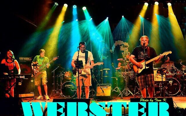 Webster is playing at the AJLF for the first time this year.