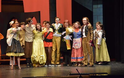 "Levy takes a bow with middle schoolers in ""Beauty and the Beast."""