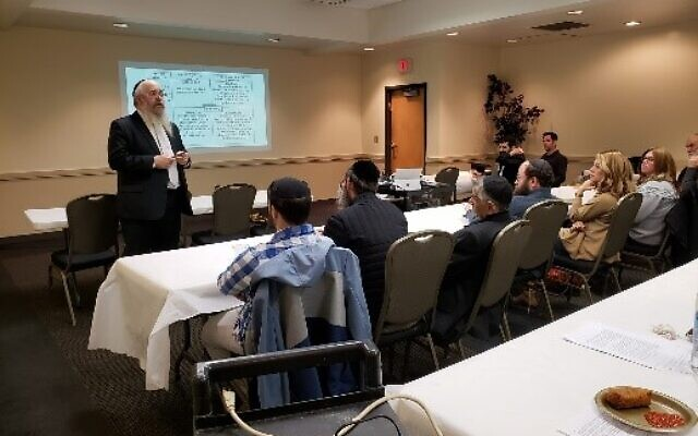 Guest educator Rabbi Yossi Rosenblum spoke at Congregation Beth Jacob. A VIP dinner reception for teachers was sponsored by Atlanta Jewish Academy, CMCH and Chabad of Toco Hills, followed by a parent lecture.
