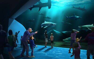 The expansion will bring the aquarium to 11 million gallons in capacity and expand its size to 680,000 square feet.