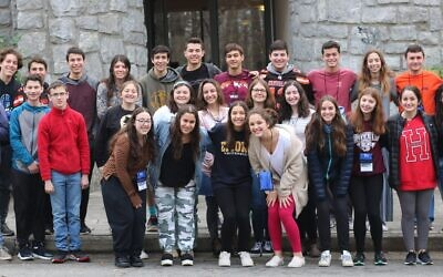 Photos Courtesy of CIE // High school students from New York, New Jersey, Pennsylvania, South Carolina, Georgia, Florida, Ohio and California attend the final day of the Teen Israel Leadership Institute in Atlanta on Dec. 8.